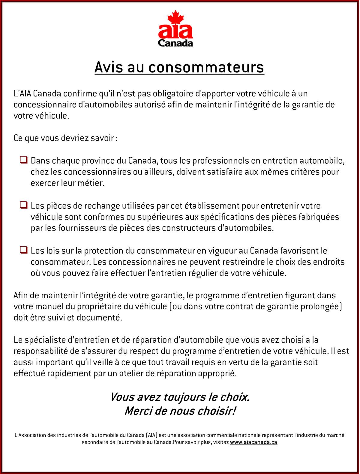 M canique g n rale alma saguenay lac saint jean - Vente privee avis consommateur ...